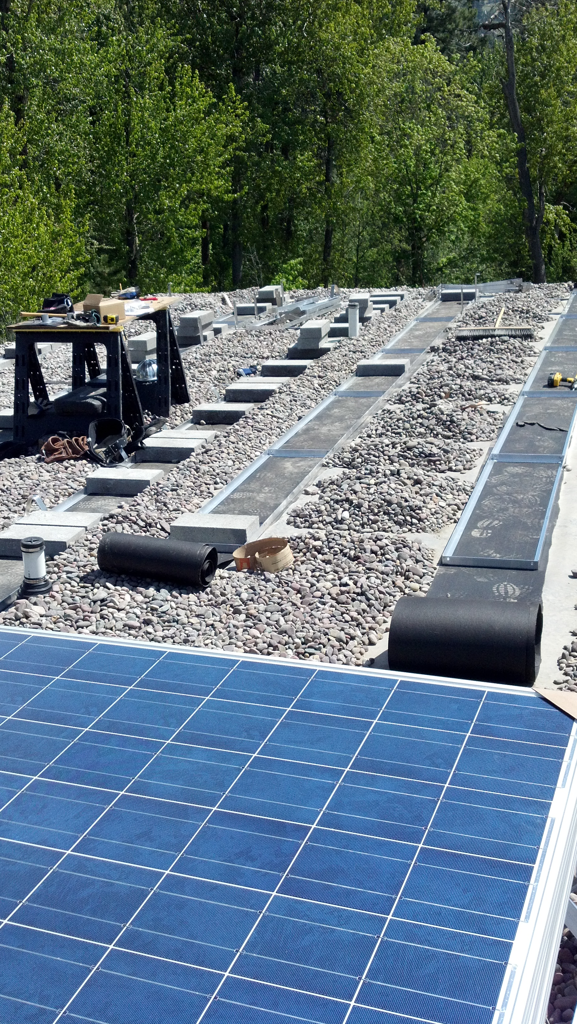 Ballasted Mounting System Clean Energy Talk