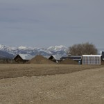Massive Rural Solar Array in the Upper Bitterroot Valley, Western Montana.