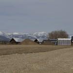 Massive Rural Solar Array in the Upper Bitterroot Valley, Western Montana.