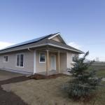 Net Zero Habitat for Humanity home in Stevensville, Montana