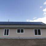 30 module, 7.5kWh array and a grid tie inverter