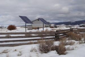 Wisdom Montana Solar Electric System