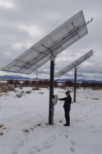 Wisdom Montana Solar Tracker