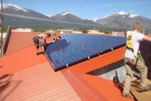 Bitterroot Brewery, Hamilton Montana , Photovoltaic Installation
