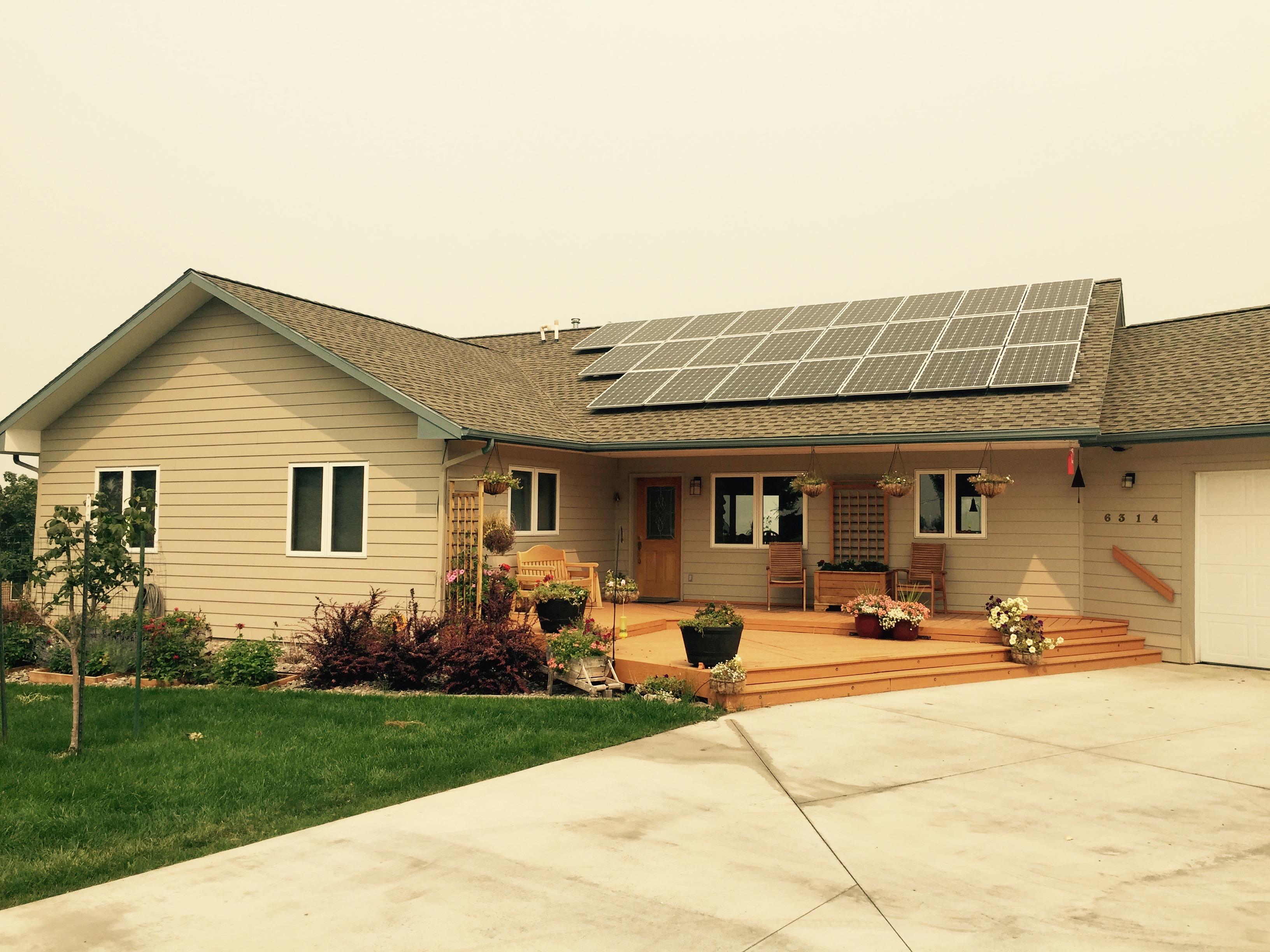 solar electric modules Lolo Montana