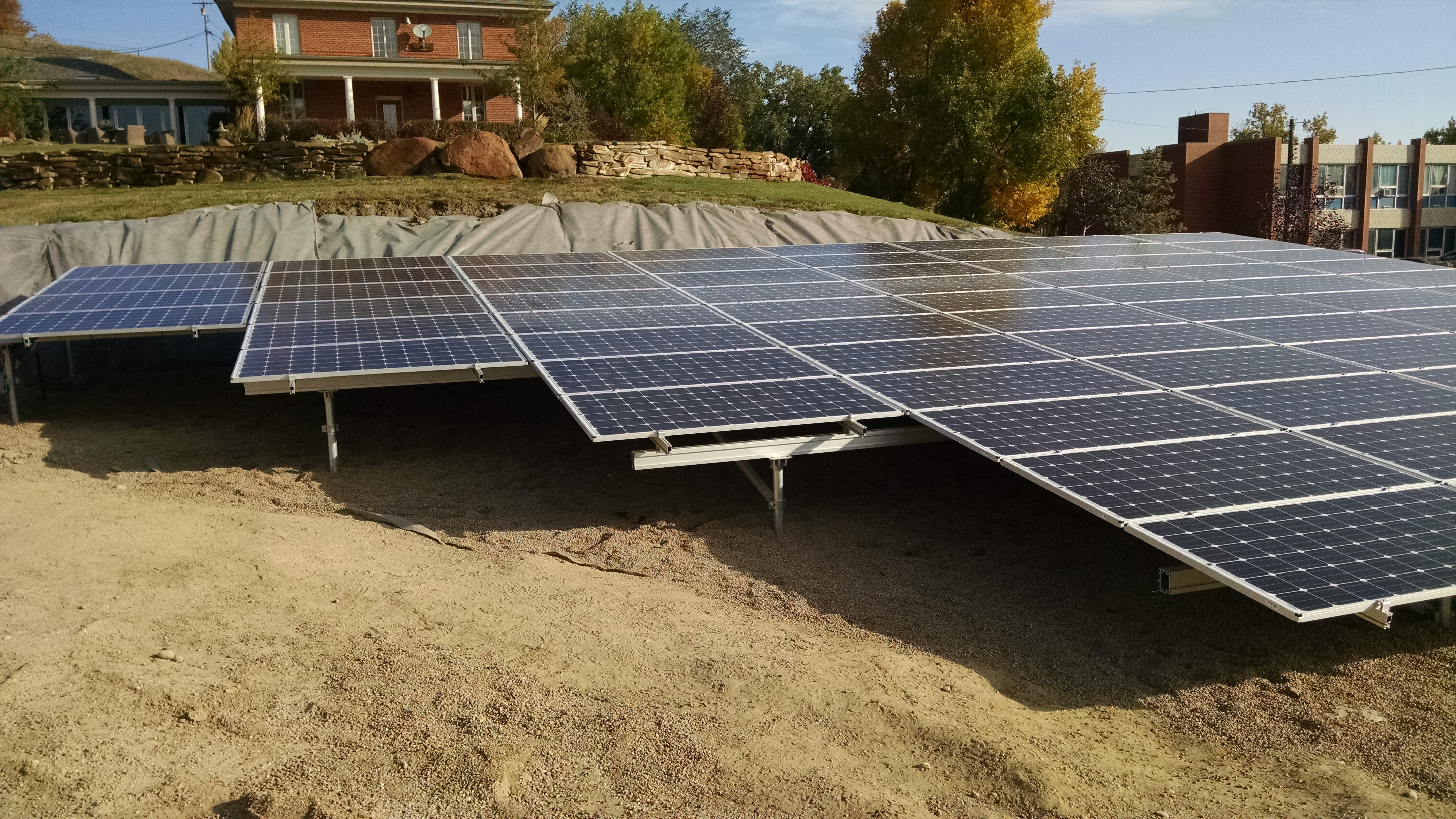 Ground Mount Solar Electric Modules Havre Montana