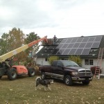 Roof Mount Solar Electric Modules