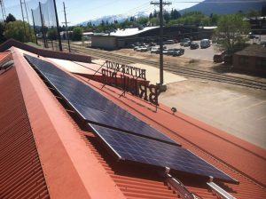 Bitterroot Brewery solar electric system