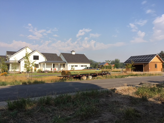 Solar Panels on Garage