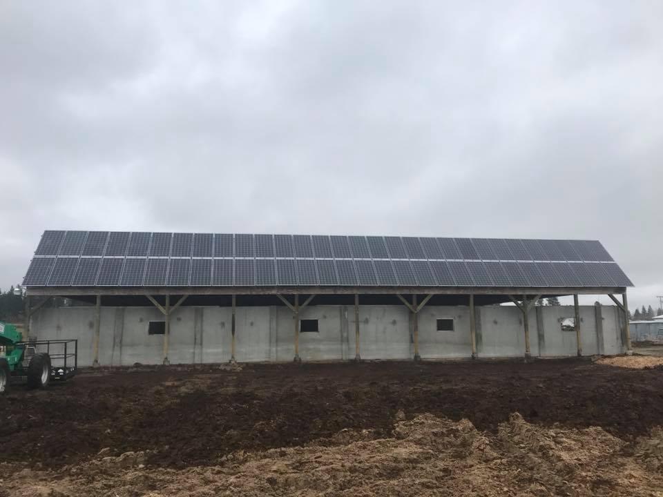 Lifeline Creamery and Farm Store Solar Installation