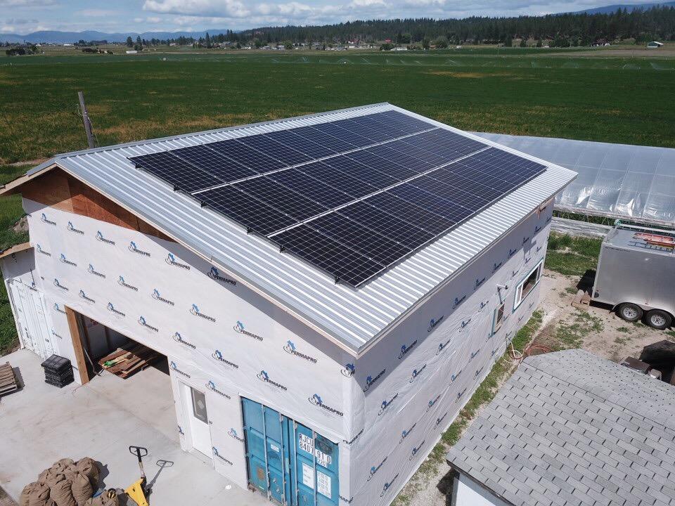 Lifeline Produce Solar Electric System