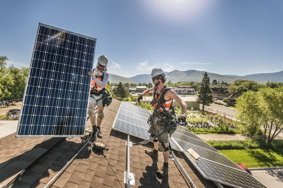 Solar Installation Missoula