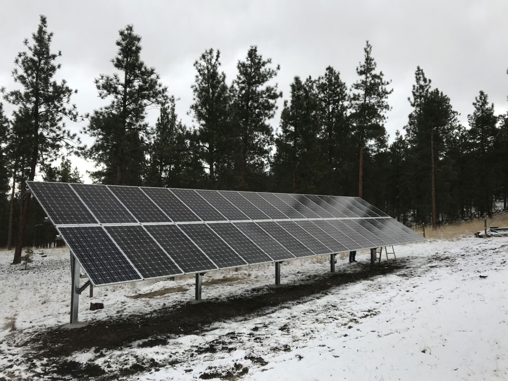 Ground Mount Solar Hamilton Montana